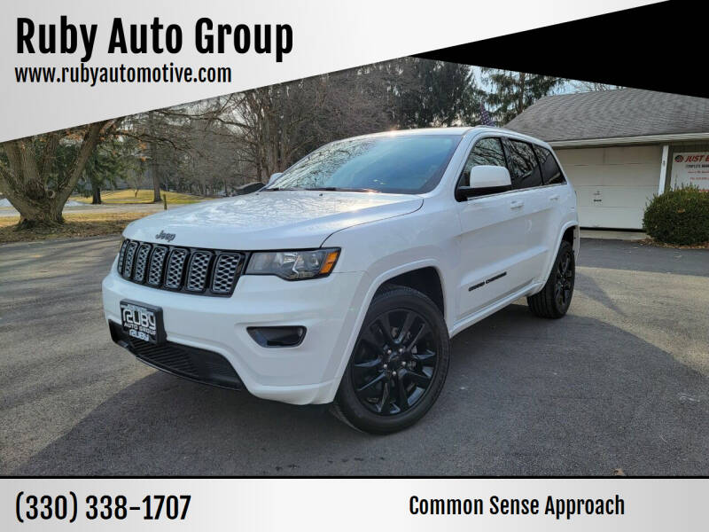 2018 Jeep Grand Cherokee for sale at Ruby Auto Group in Hudson OH