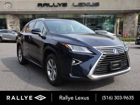 2018 Lexus RX 450h for sale at RALLYE LEXUS in Glen Cove NY
