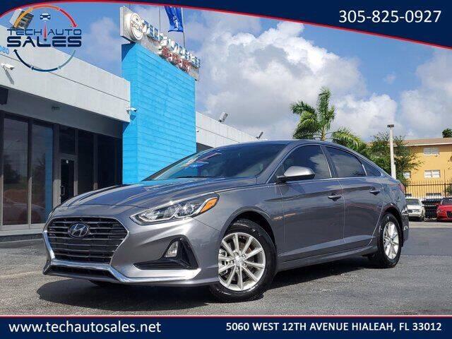 2019 Hyundai Sonata for sale at Tech Auto Sales in Hialeah FL