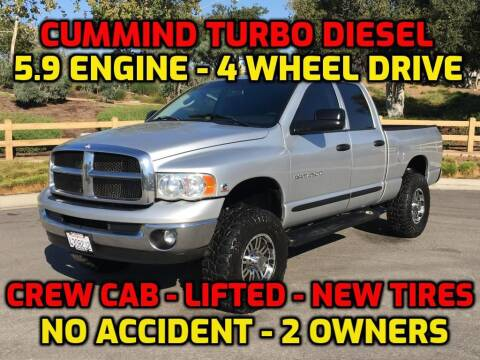 2005 Dodge Ram Pickup 2500 for sale at OC Used Auto in Newport Beach CA