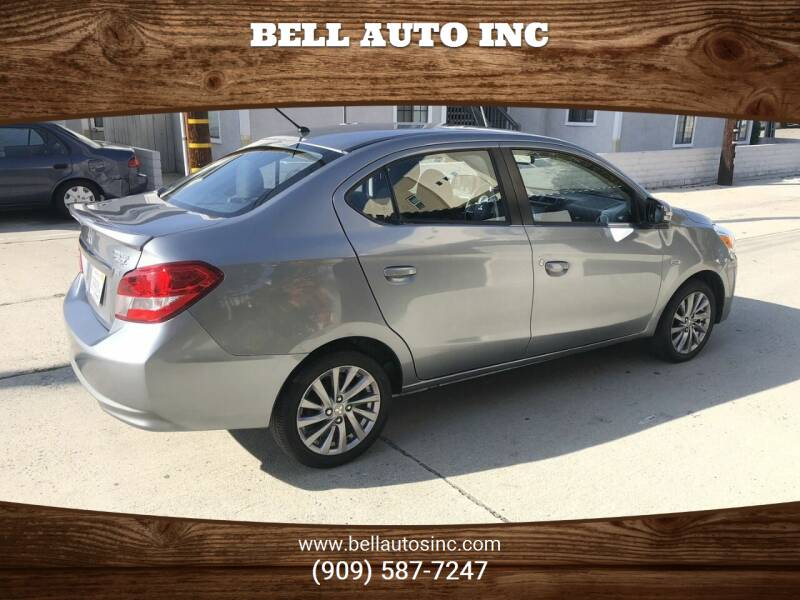 2018 Mitsubishi Mirage G4 for sale at Bell Auto Inc in Long Beach CA