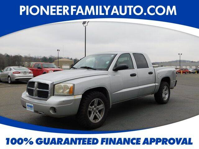 2007 Dodge Dakota for sale at Pioneer Family auto in Marietta OH