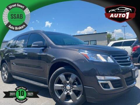 2017 Chevrolet Traverse for sale at Street Smart Auto Brokers in Colorado Springs CO