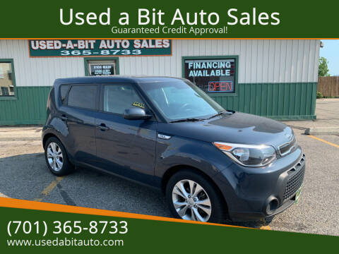 2015 Kia Soul for sale at Used a Bit Auto Sales in Fargo ND