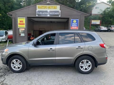 2012 Hyundai Santa Fe for sale at Martino Motors in Pittsburgh PA