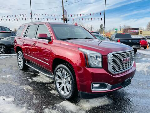 2016 GMC Yukon for sale at Lion's Auto INC in Denver CO