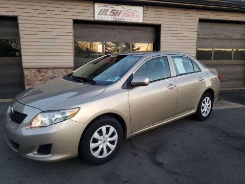 2009 Toyota Corolla for sale at Ulsh Auto Sales Inc. in Summit Station PA