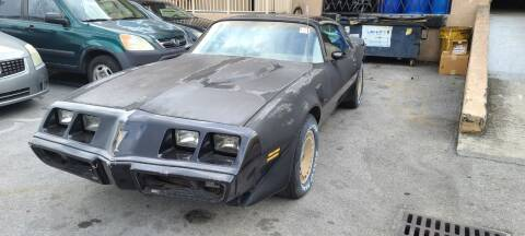 1980 Pontiac Firebird Trans Am for sale at ADVANCE AUTOMALL in Doral FL