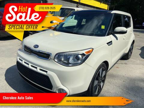 2015 Kia Soul for sale at Cherokee Auto Sales in Acworth GA