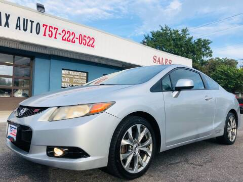 2012 Honda Civic for sale at Trimax Auto Group in Norfolk VA