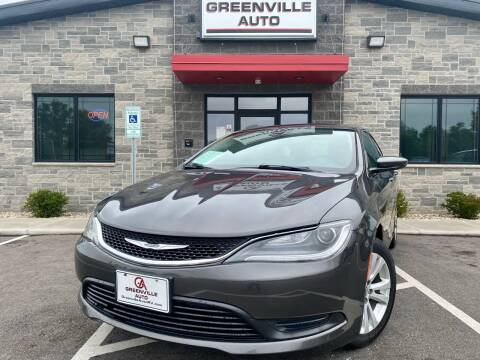 2016 Chrysler 200 for sale at GREENVILLE AUTO in Greenville WI