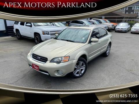 2006 Subaru Outback for sale at Apex Motors Parkland in Tacoma WA