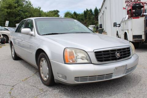 2001 Cadillac DeVille for sale at UpCountry Motors in Taylors SC