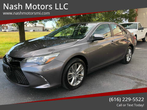 2017 Toyota Camry for sale at Nash Motors LLC in Hudsonville MI