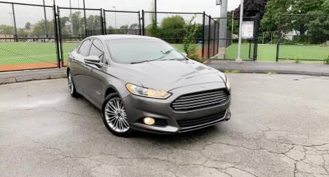 2014 Ford Fusion Hybrid for sale at Maxima Auto Sales in Malden MA