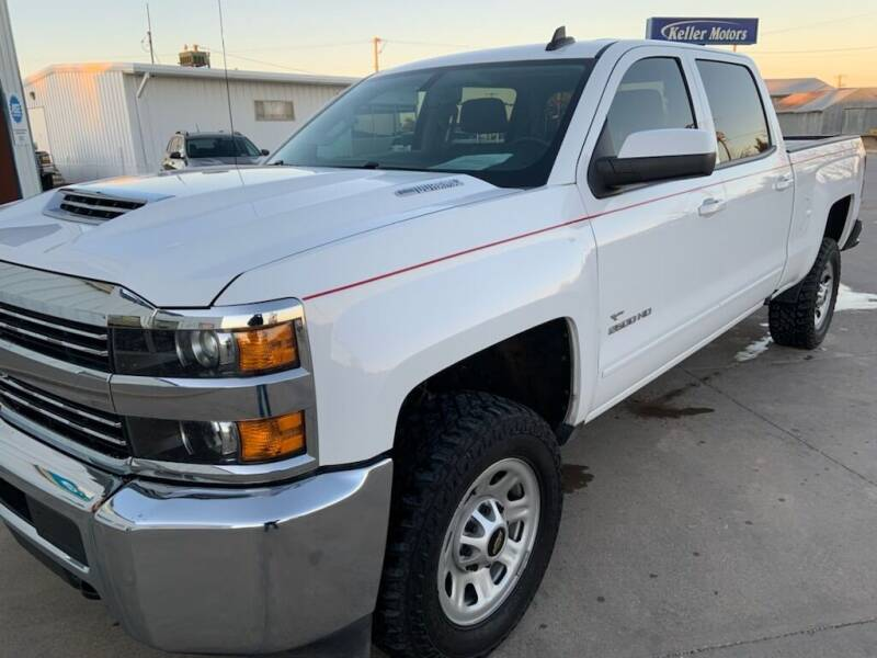 2018 Chevrolet Silverado 2500HD for sale at Keller Motors in Palco KS