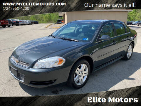 2014 Chevrolet Impala Limited for sale at Elite Motors in Uniontown PA