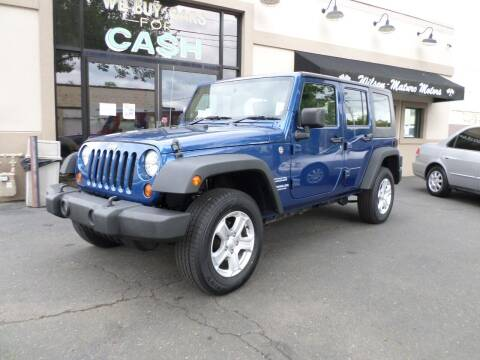 2010 Jeep Wrangler Unlimited for sale at Wilson-Maturo Motors in New Haven Ct CT