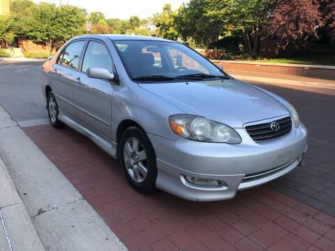 2008 Toyota Corolla for sale at Third Avenue Motors Inc. in Carmel IN