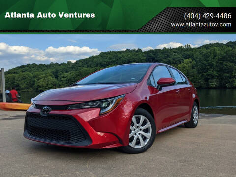 2021 Toyota Corolla for sale at Atlanta Auto Ventures in Roswell GA