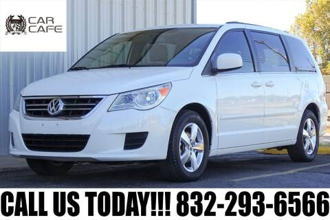 2011 Volkswagen Routan for sale at CAR CAFE LLC in Houston TX