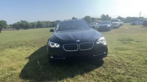 2015 BMW 5 Series for sale at N & A Metro Motors in Dallas TX