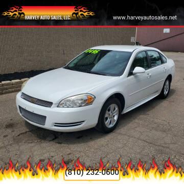 2013 Chevrolet Impala for sale at Harvey Auto Sales, LLC. in Flint MI