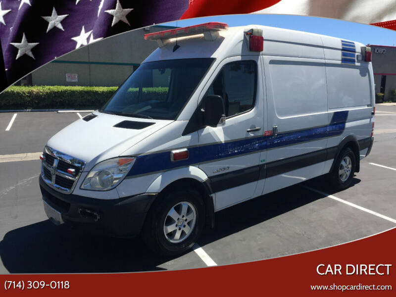 2009 Dodge Sprinter Cargo for sale at Car Direct in Orange CA