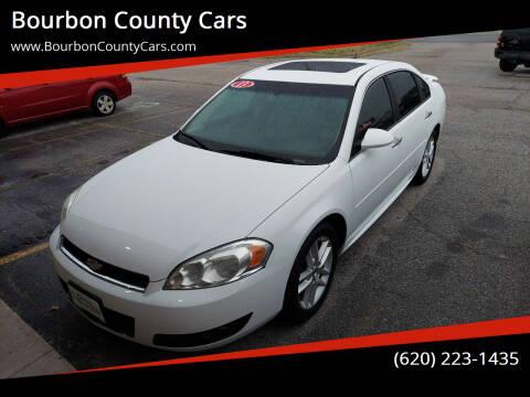 2013 Chevrolet Impala for sale at Bourbon County Cars in Fort Scott KS