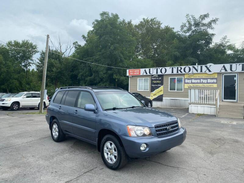 2003 Toyota Highlander for sale at Auto Tronix in Lexington KY