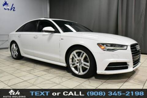 2016 Audi A6 for sale at AUTO HOLDING in Hillside NJ