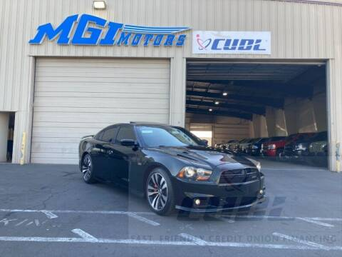2012 Dodge Charger for sale at MGI Motors in Sacramento CA