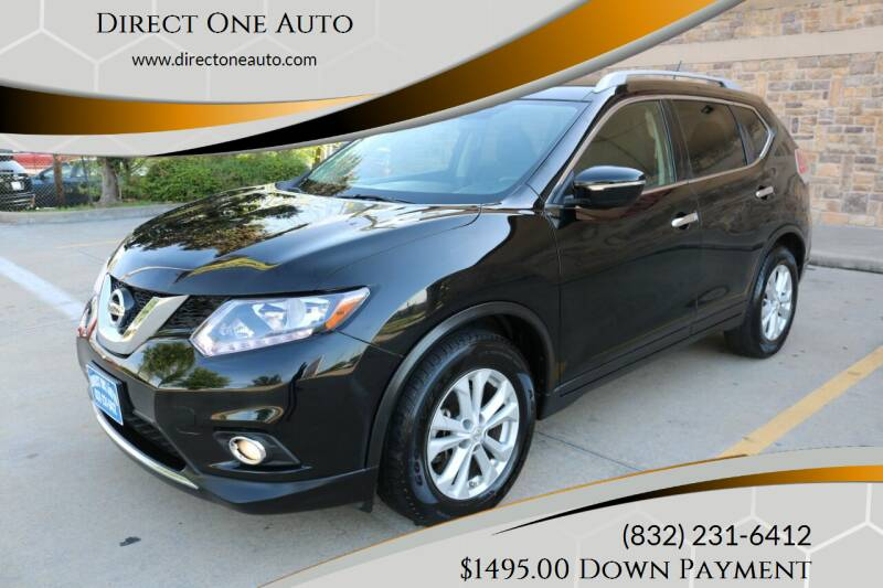 2014 Nissan Rogue for sale at Direct One Auto in Houston TX