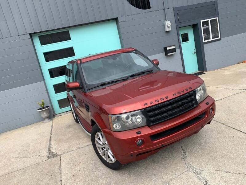 2006 Land Rover Range Rover Sport for sale at Enthusiast Autohaus in Sheridan IN