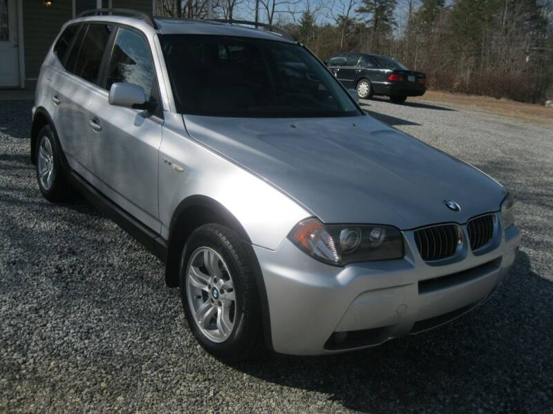 2006 BMW X3 for sale at Judy's Cars in Lenoir NC