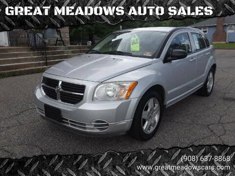2009 Dodge Caliber for sale at GREAT MEADOWS AUTO SALES in Great Meadows NJ