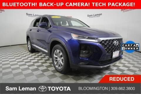 2020 Hyundai Santa Fe for sale at Sam Leman Toyota Bloomington in Bloomington IL