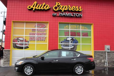 2013 Nissan Altima for sale at AUTO EXPRESS OF HAMILTON LLC in Hamilton OH