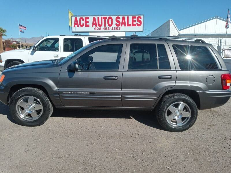 2004 Jeep Grand Cherokee for sale at ACE AUTO SALES in Lake Havasu City AZ