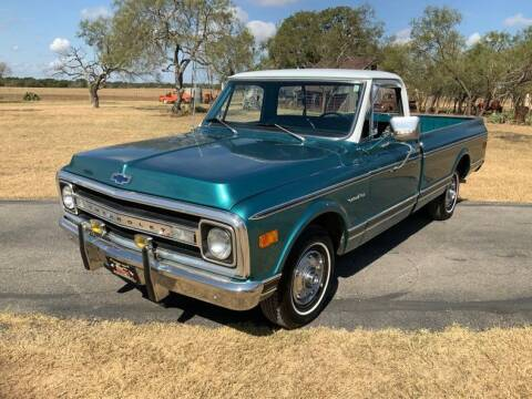 1969 Chevrolet C/K 10 Series for sale at STREET DREAMS TEXAS in Fredericksburg TX