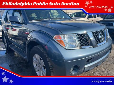2005 Nissan Pathfinder for sale at Philadelphia Public Auto Auction in Philadelphia PA