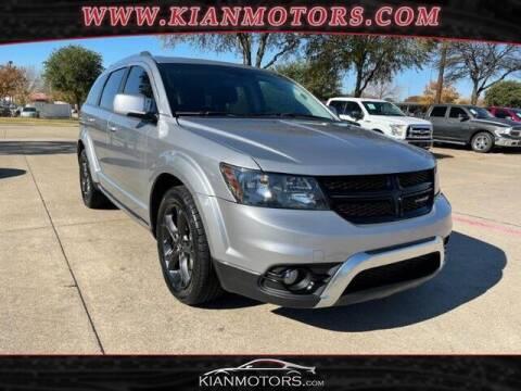 2018 Dodge Journey for sale at KIAN MOTORS INC in Plano TX