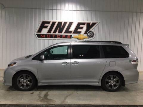 2017 Toyota Sienna for sale at Finley Motors in Finley ND
