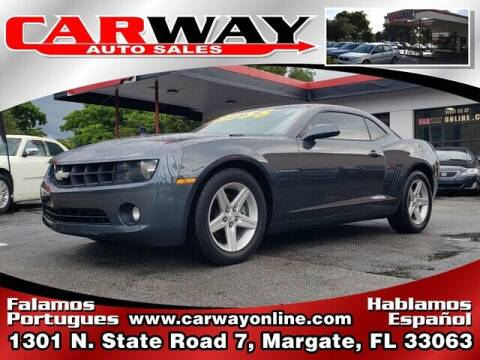 2010 Chevrolet Camaro for sale at CARWAY Auto Sales in Margate FL