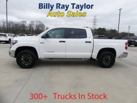 2018 Toyota Tundra for sale at Billy Ray Taylor Auto Sales in Cullman AL