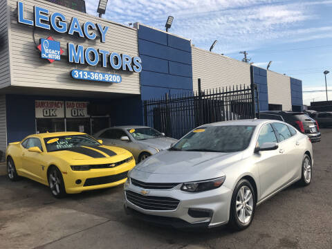 2018 Chevrolet Malibu for sale at Legacy Motors in Detroit MI