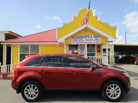2014 Ford Edge for sale at Mission Auto & Truck Sales, Inc. in Mission TX