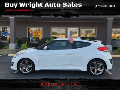 2013 Hyundai Veloster for sale at Buy Wright Auto Sales in Rogers AR