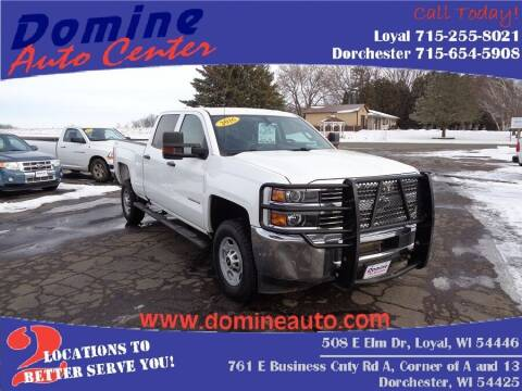 2016 Chevrolet Silverado 2500HD for sale at Domine Auto Center - commercial vehicles in Loyal WI
