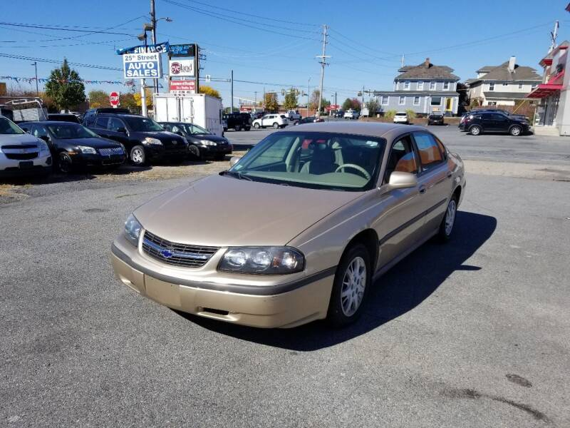 2004 Chevrolet Impala for sale at 25TH STREET AUTO SALES in Easton PA